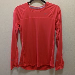 Nike long sleeve running tee